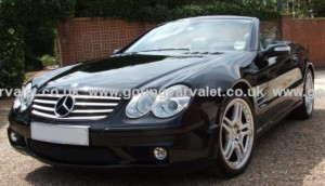Regular full valet of Mercedes SL55 AMG in West Sussex