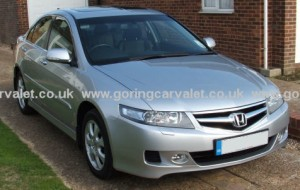 Full valet of Honda Accord in Ferring
