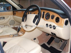 Full interior valet of Bentley Arnage in West Sussex