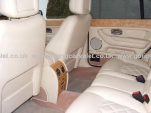 Full interior valet of Bentley Arnage in West Sussex