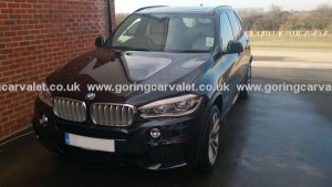BMW X5 - regularly valeted in the Littlehampton area
