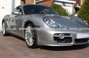 Regular full valet of Porsche Cayman S in Worthing