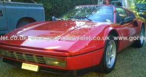 Single stage machine polish of Ferrari 328 GTS in Barns Green