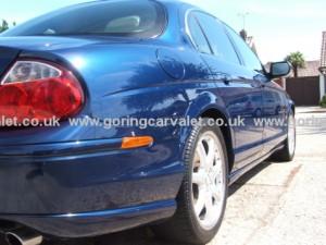 Jaguar S-Type after paintwork correction