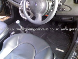 Ford Ka full interior valet in Worthing