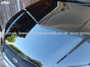 Subaru Legacy after paintwork correction