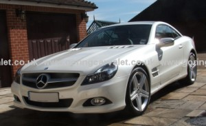 Regular full valet of Mercedes SL 350 in West Sussex