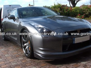 Diamondbrite maintenance valet of Nissan GTR in Worthing