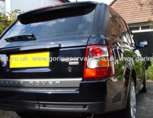 Full valet and paintwork correction of Range Rover Sport in Worthing