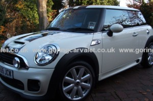 Regular valet of Mini Cooper S in South Ferring