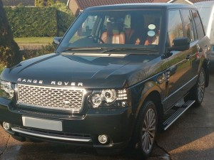 Regularly valeted Range Rover in East Preston