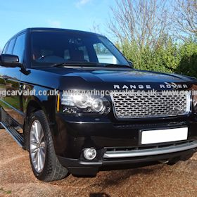 Regular valet of Range Rover in Angmering