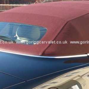 Goring Car Valet convertible soft top service