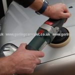 Goring Car Valet - machine polishing