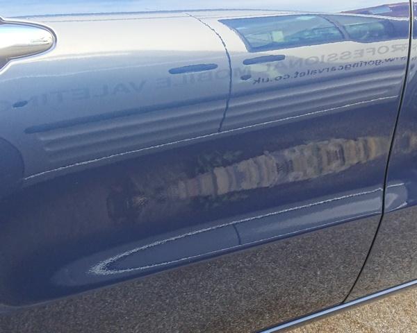 Mercedes paint after correction