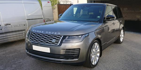 Range Rover following Silex professional coatings treatment