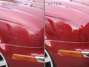 Jaguar S-Type paintwork correction