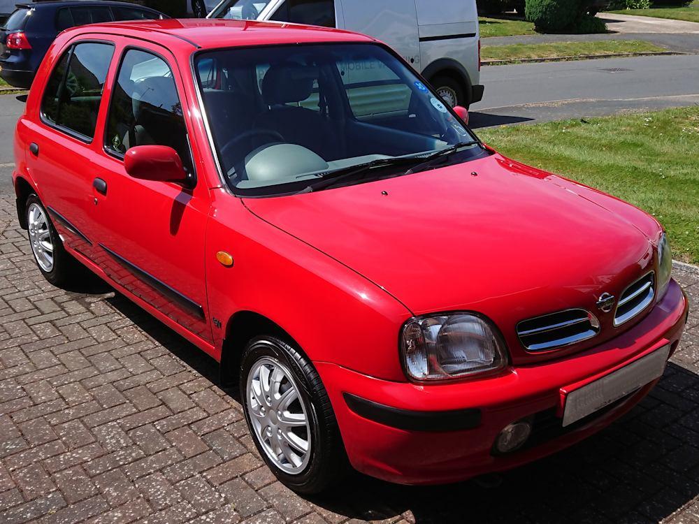 1990s Nissan Micra full valet