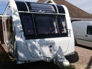 Compass Rallye caravan