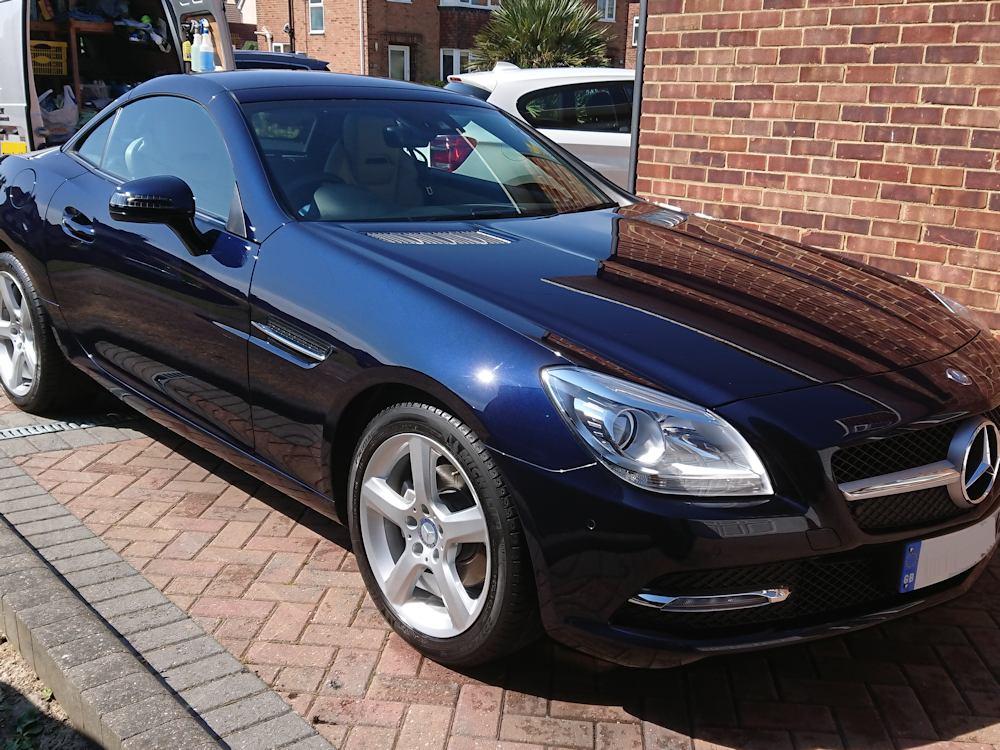 Mercedes SLK exterior