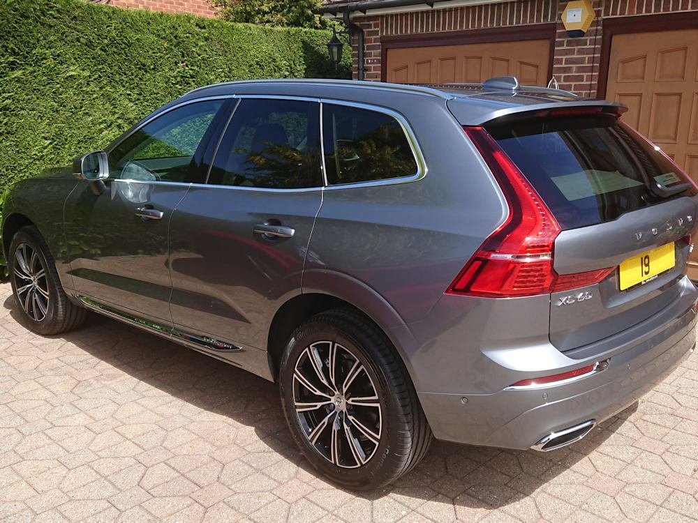 Volvo XC60 Inscription with Silex ceramic coatings