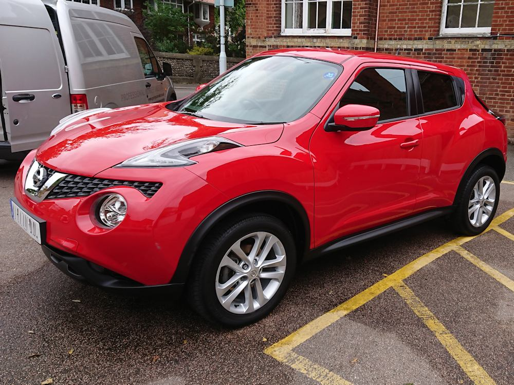 Nissan Juke after Gold valet