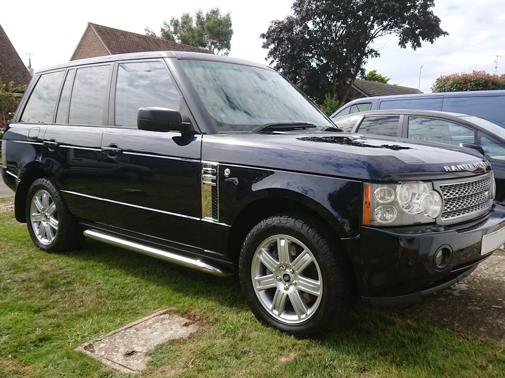Range Rover Vogue Platinum valet