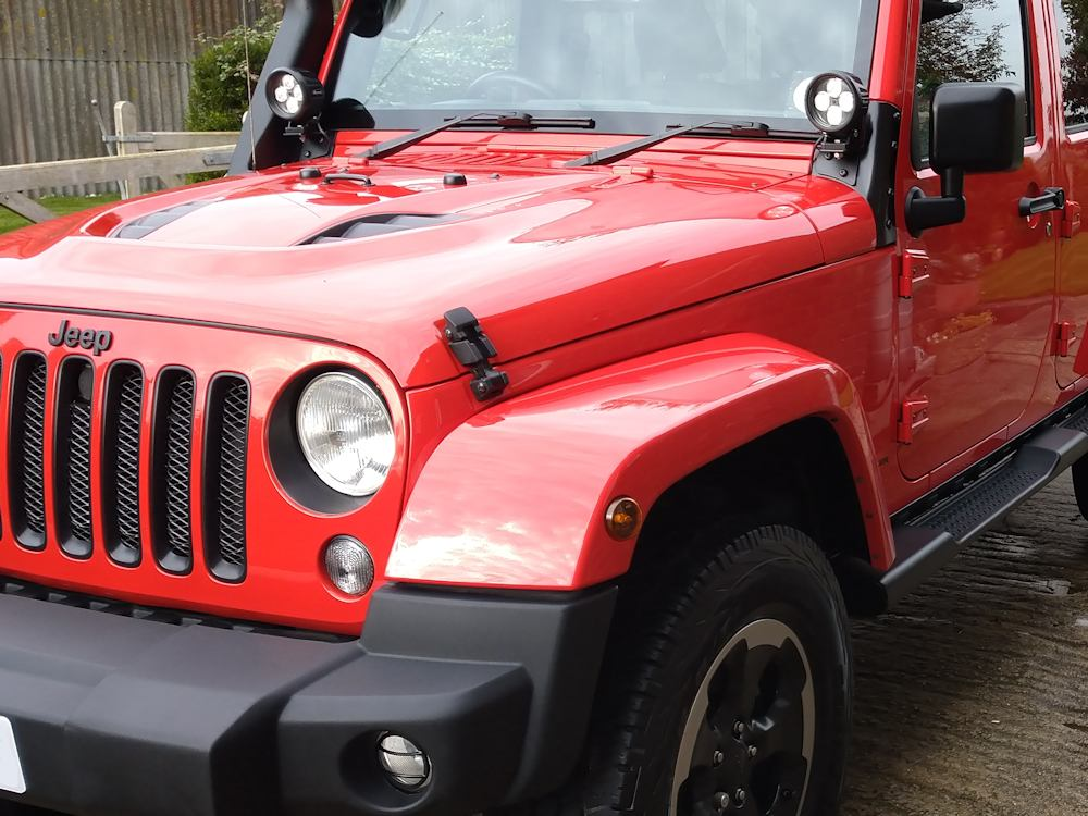 Jeep Wrangler winter protection valet