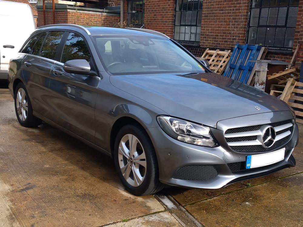 Mercedes C220 after exterior Gold valet