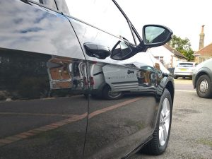 VW Golf after Level 1 detail - deep reflection