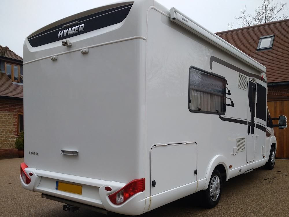 Hymer T668CL motorhome
