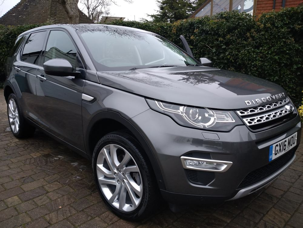 Discovery Sport after Gold valet