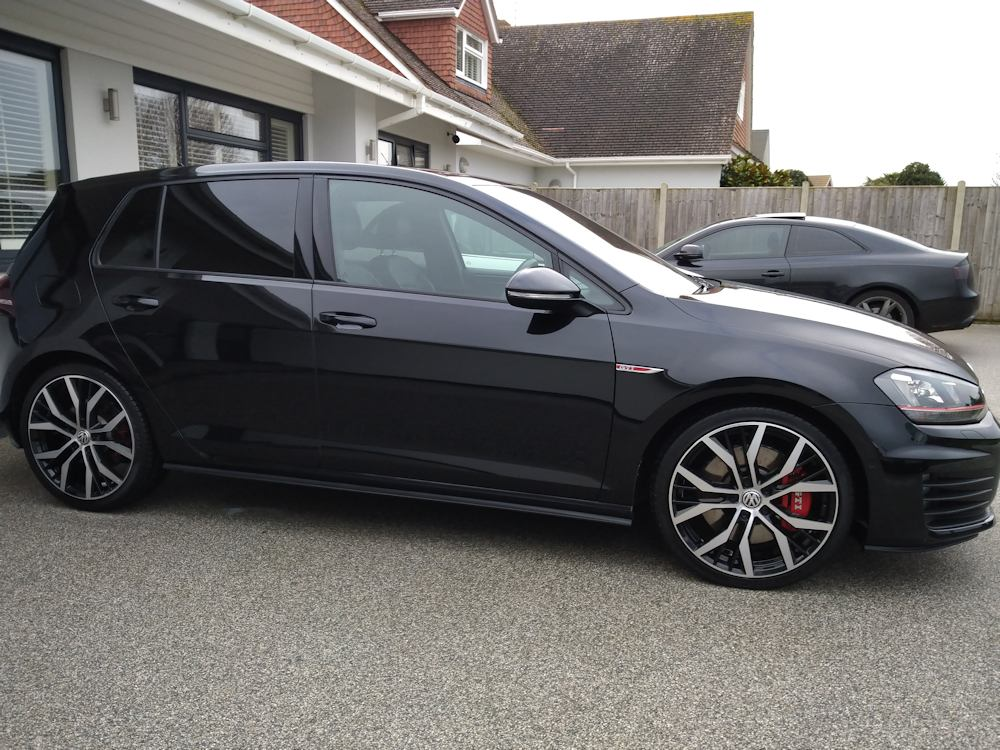 Regularly valeted VW Golf GTI