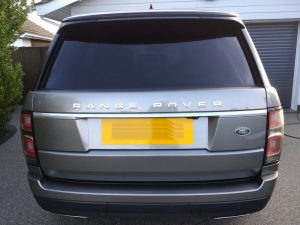 Range Rover Vogue cleaned and sealed