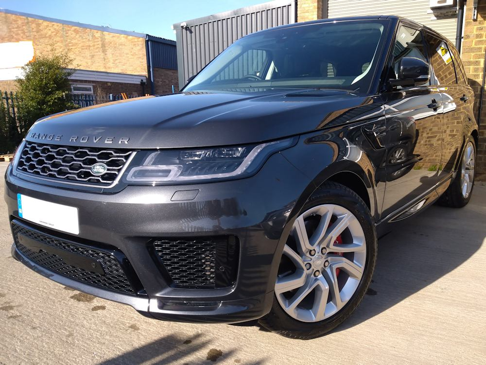 2020 Range Rover Sport P400 after Bronze valet