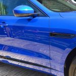 Jaguar F Pace Caesium Blue